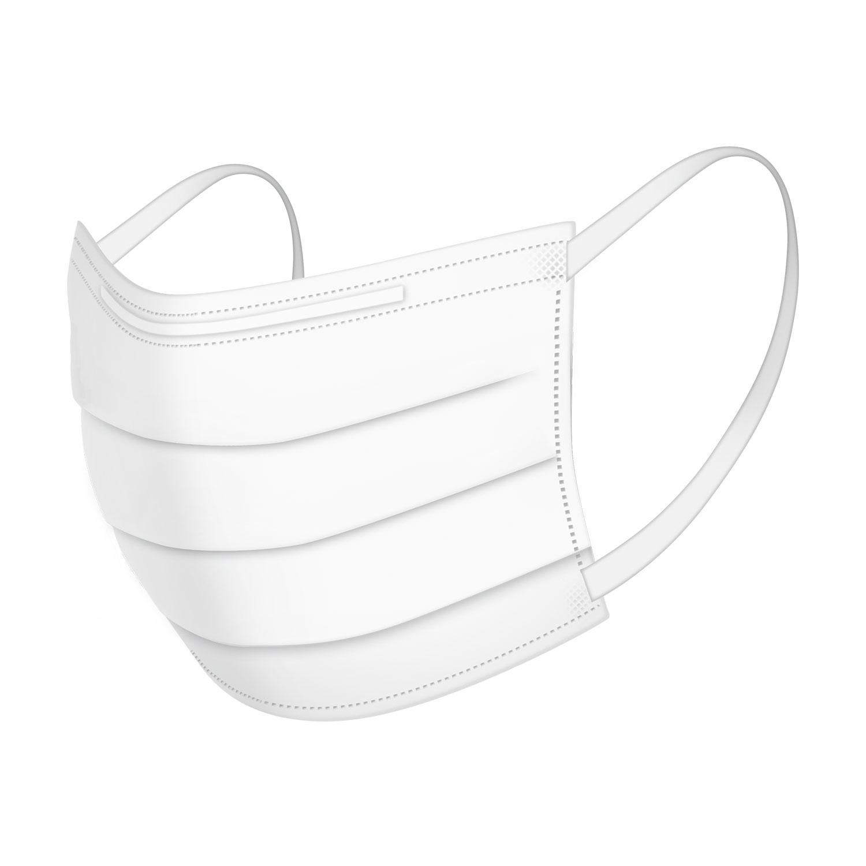 立体型不織布マスク キッズサイズ 50枚入