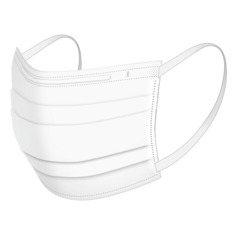 立体型不織布マスク 小さめサイズ 50枚入